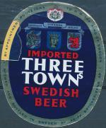 Three Town Swedish Beer