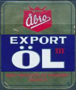 Export Öl III - Abro