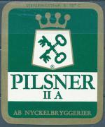 Pilsner II A - Ab Nyckelbryggerier