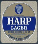 Harp Lager - Great Britain