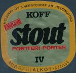 Koff Stout Porter - Helsinkfors