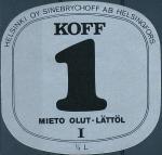 Koff 1 - Helsingfors