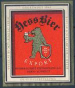 Hessbier Export - Steinhölzli A.G.