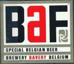 BaF Special Belgian Beer