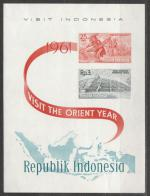 1961, Indonésie Mi bl**3