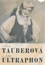 Autogram Maria Tauberová
