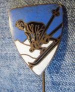 Lyžařský odznak, smalt