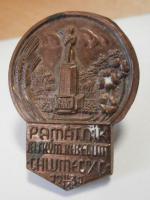 Odznak Památník Chlumec 1938