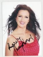 Autogram Karin Majtánová
