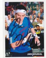 Autogram squashista Jan Koukal