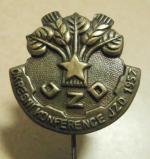 Odznak Konference JZD 1957