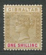 1898, Gibraltar Mi-*36