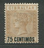 1889, Gibraltar Mi-*21