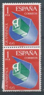 1966, Španělsko Mi **1591