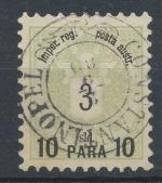1886, Rak. pošt. provoz v Levantě Mi-14I