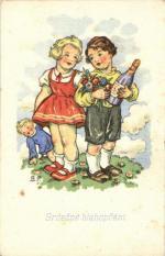 Srdečné blahopřání, děti