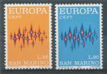 1972, San Marino Mi-**997/98