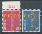 1971, Švýcarsko Mi-**947/48