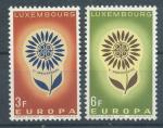 1964, Lucembursko Mi-**697/98
