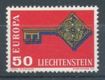 1968, Lichtenštejnsko Mi-**495