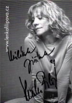 Autogram Lenka Filipová