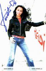Autogram Heidi Janků