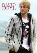 Autogram David Deyl
