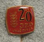 Luhačovice - JZD - 20 let