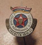 Odznak Trenčín, Krajs. tělových. slavnosti 1958