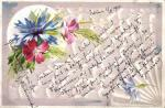 Blahopřání, květiny