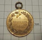 R-U Válečná medaile 1873, František Josef I.