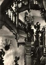 Rožmberk - hradní schodiště
