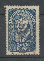 1919, Rakousko perfin LB-21