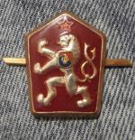 Čepicový odznak ČSLA, lev