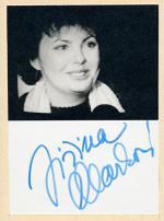 Autogram Jiřina Marková