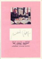 Autogram Mgr. Michal Prokop