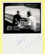 Autogram Josef Kodet