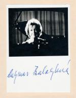 Autogram Dagmar Baloghová