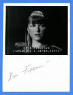 Autogram Hana Francová