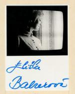 Autogram Eliška Balzerová