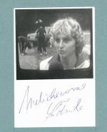 Autogram Ludmila Melicharová