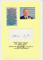 Autogram Karel Dyba