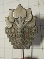 Odznak Slovanská zeměděls. výstava 1948
