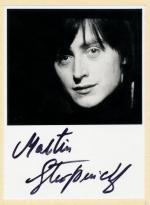 Autogram Martin Stropnický