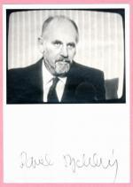 Autogram Pavel Rychetský
