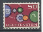 1961, Lichtenštejnsko Mi-**414