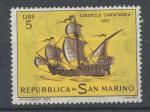 1963, San Marino Mi **754