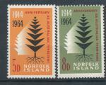 1964, Norfolk Island Mi -**57/8