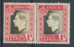 1937, South Africa Mi-*111/12