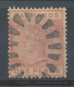 1882, Barbados Mi 33